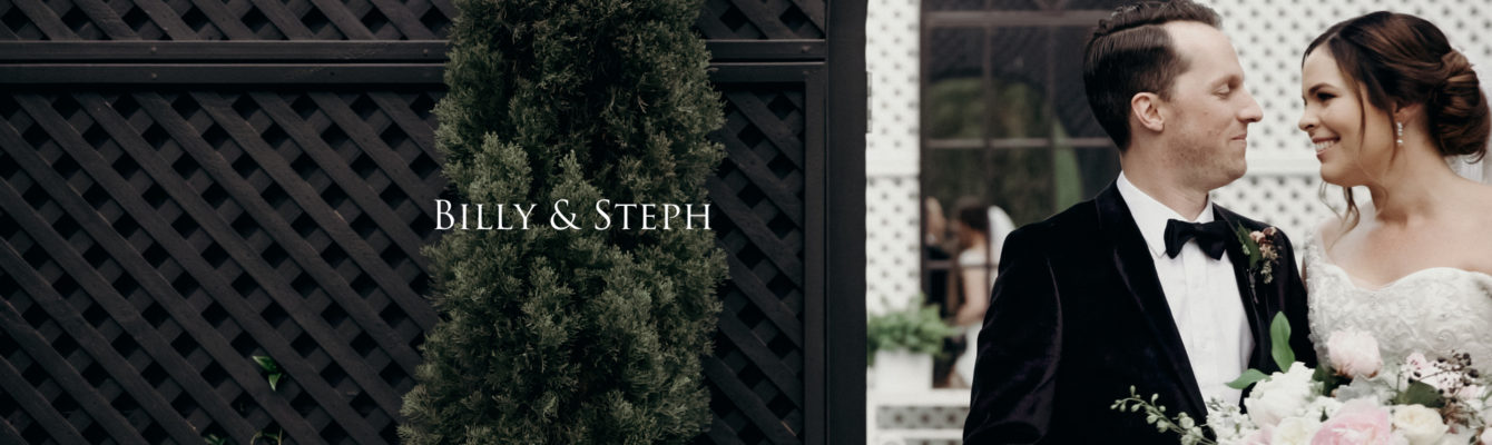 wedding highlights film Billy & Steph